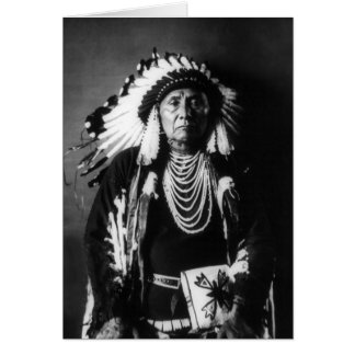 Chief Joseph Card