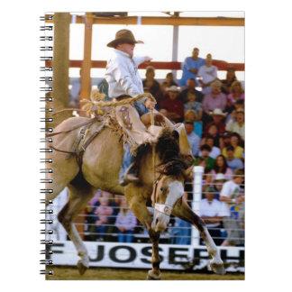 Chief Joseph Days Rodeo, Joseph, Oregon, USA Spiral Notebook