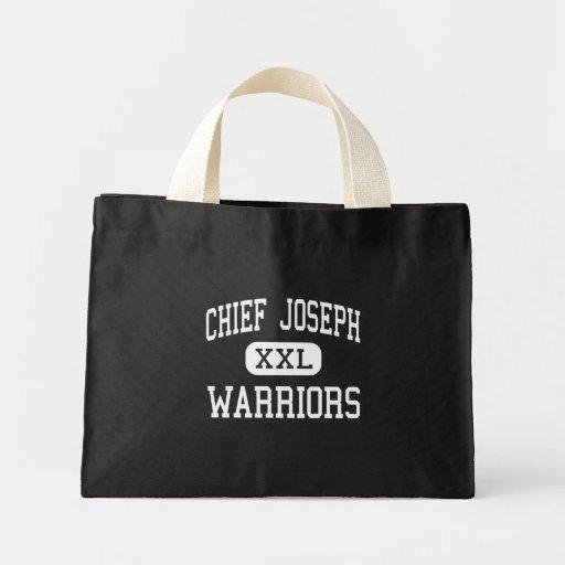 Chief Joseph - Warriors - Middle - Bozeman Montana Canvas Bag