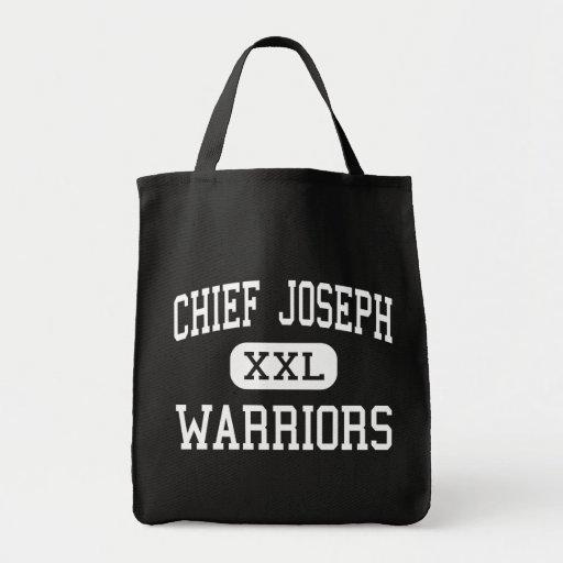 Chief Joseph - Warriors - Middle - Bozeman Montana Bag