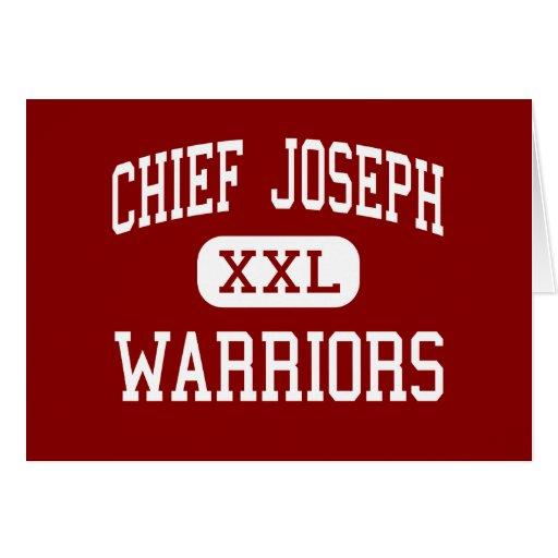 Chief Joseph - Warriors - Middle - Bozeman Montana Card