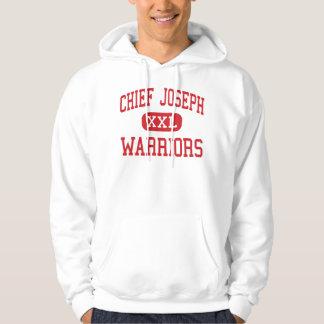 Chief Joseph - Warriors - Middle - Bozeman Montana Hoody