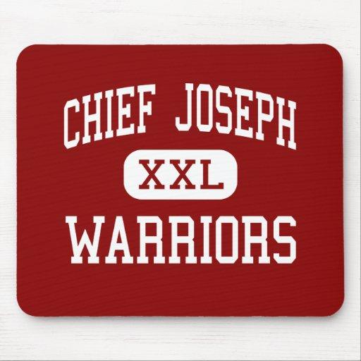 Chief Joseph - Warriors - Middle - Bozeman Montana Mouse Pads