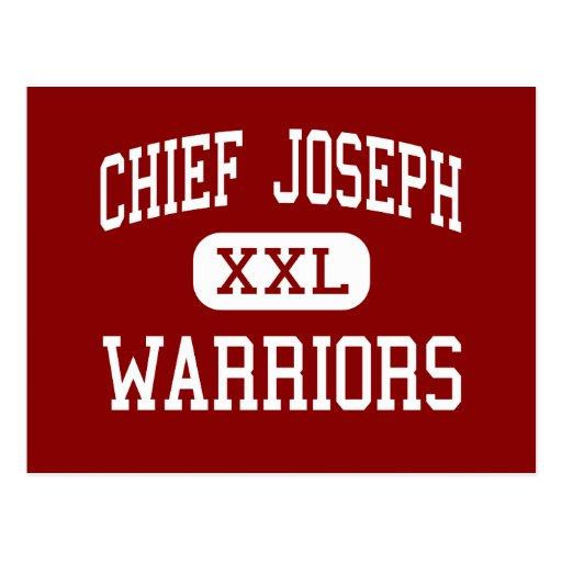 Chief Joseph - Warriors - Middle - Bozeman Montana Postcard