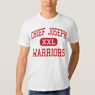 Chief Joseph - Warriors - Middle - Bozeman Montana T Shirts