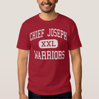 Chief Joseph - Warriors - Middle - Bozeman Montana Tee Shirt