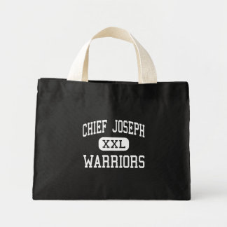 Chief Joseph - Warriors - Middle - Bozeman Montana Mini Tote Bag