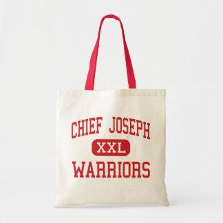 Chief Joseph - Warriors - Middle - Bozeman Montana Budget Tote Bag