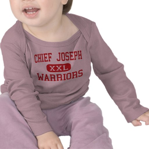 Chief Joseph - Warriors - Middle - Bozeman Montana Tshirts