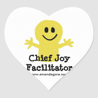 Chief Joy Facilitator Stickers