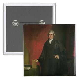 Chief Justice Marshall 15 Cm Square Badge
