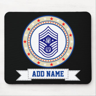 Chief Master Sergeant of the Air Force CMSAF E-9 Mouse Mat