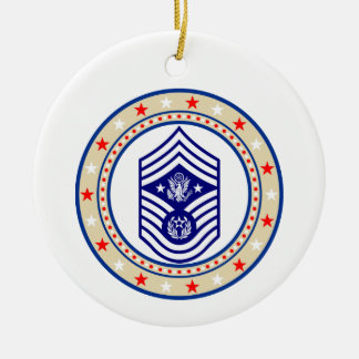Chief Master Sergeant of the Air Force E-9 CMSAF Christmas Ornament