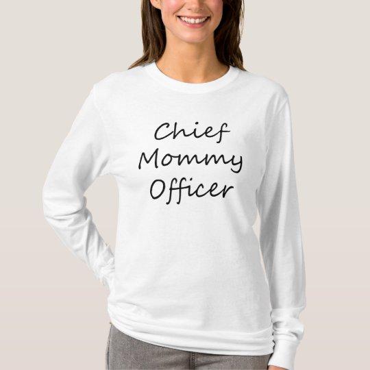 Chief Mummy Officer Hoodie