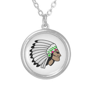 Chief Round Pendant Necklace