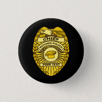 Chief Of Kitchen Police Badge
