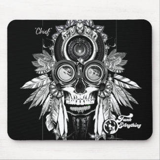 Chief of the  Funk'd Mouse Pad