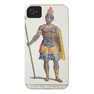Chief of the Hondurans, 1780 (coloured engraving) Case-Mate iPhone 4 Case