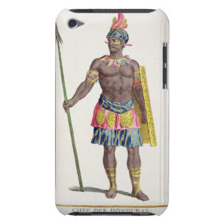 Chief of the Hondurans, 1780 (coloured engraving) iPod Touch Case