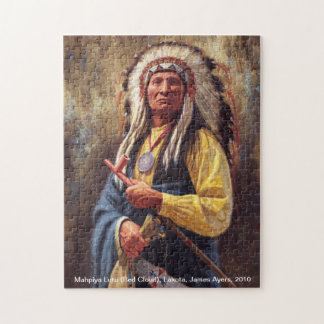 Chief Red Cloud, American Indian Chief puzzle