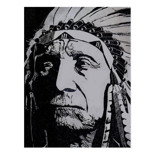 Chief Red Cloud Postcard