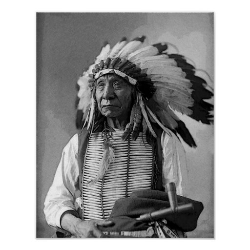 Chief Red Cloud Print Posters