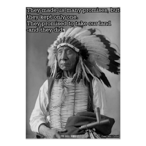 Chief Red Cloud Quote Posters