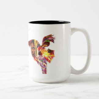 Chief Red Eagle Two-Tone Coffee Mug