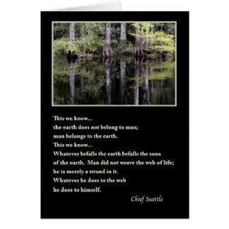 Chief Seattle 2 Card