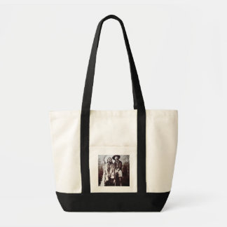 Chief Sitting Bull (1831-90) on tour with Buffalo Tote Bag