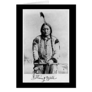 Chief Sitting Bull 1889 Greeting Card