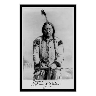 Chief Sitting Bull 1889 Poster