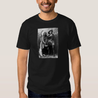 Chief Sitting Bull and Buffalo Bill 1895 T Shirts