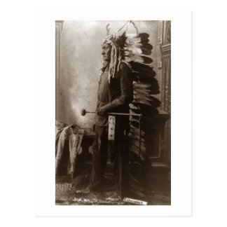 Chief Sitting Bull - Vintage Postcard
