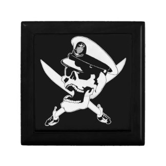 Chief Skull Small Square Gift Box