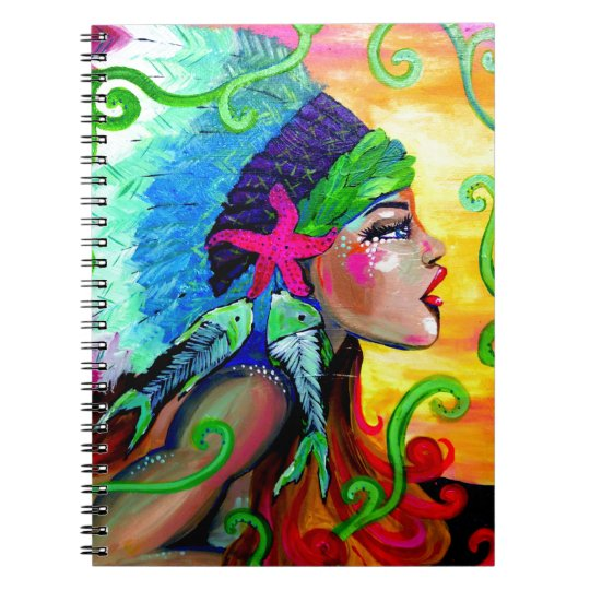 Chief Spiral Notebook