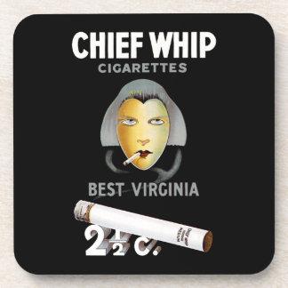 Chief Whip Cigarettes Coaster