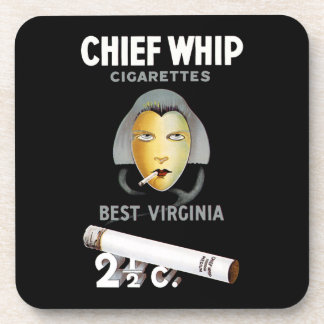 Chief Whip Cigarettes Coasters