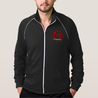 Chiefs Dark Zipper Original Logo Jacket