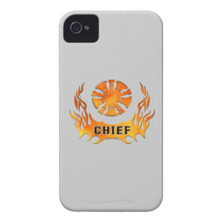 Chiefs Flames iPhone 4 Case-Mate Cases