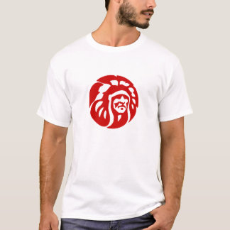 Chiefs White T, Red Logo (No Text) T-Shirt
