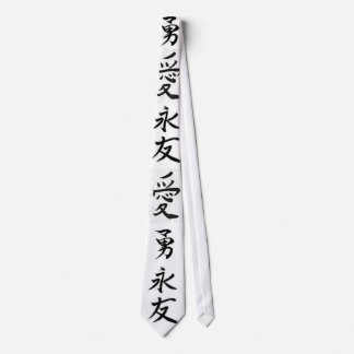 chiense writing tie