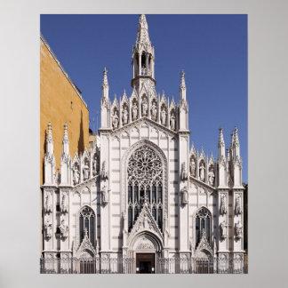 Chiesa del Sacro Cuore del Suffragio, Rome, Poster