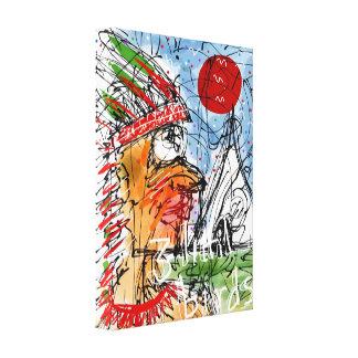 Chif T Canvas Print