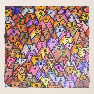 Chiffon Scarf - 026 - CATS