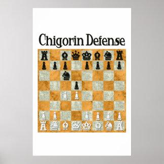 Chigorin Defense Poster