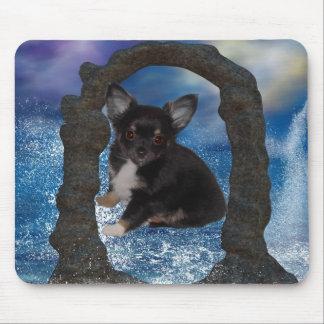 Chihuahua 2 Kawaii Scene 2 Mouse Pad