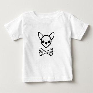 Chihuahua and bones (editable) baby T-Shirt