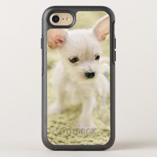 Chihuahua And Maltese Puppy OtterBox Symmetry iPhone 7 Case