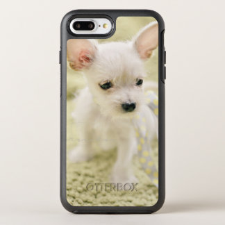 Chihuahua And Maltese Puppy OtterBox Symmetry iPhone 8 Plus/7 Plus Case